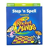 Crayola STEP N SPELL Word Building Rocket Minds