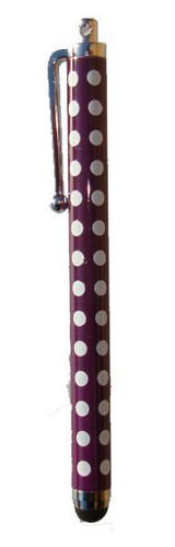 Value Pack POLKA DOT Lila SPOT Value Pack Tupfen Stylus für iPad, iPhone 5, 5S, 5C, Smartphone, S4 I9499, für alle iPads, iPhones, iPods, Samsung, Blackburry und alle Smartphones und