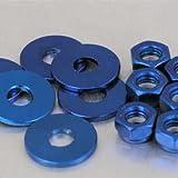 Aluminium Rocker Cover Kit Fiat Uno/Tipo 1.4lt Blue