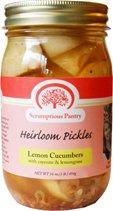 The Scrumptious Pantry Heirloom Pickles Sampler (4x16oz)