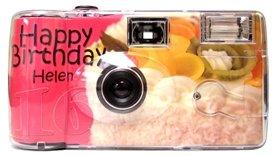 Personalized Fruit Cake Birthday Camera - 10