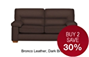 Buxton Medium Sofa - Leather