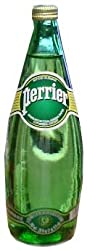 Perrier Sparkling Mineral Water, 750ml GLASS