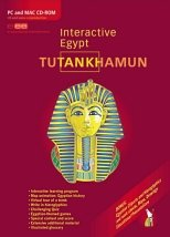 Tutankhamun (King Tut) Interactive Egypt Educational Entertainment Cd-rom
