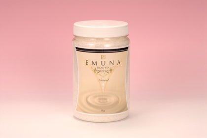 エムナーミネラルソルト 1kgボトル ナチュラル