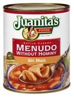 Juanita's Menudo Without Hominy - 29.5 oz. (Canned Menudo compare prices)