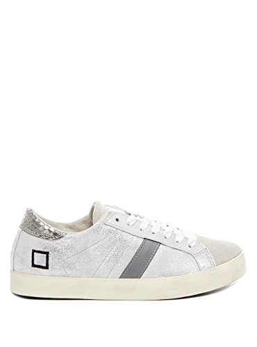 DATE HILL LOW STARDUST SILVER LEATHER (36)
