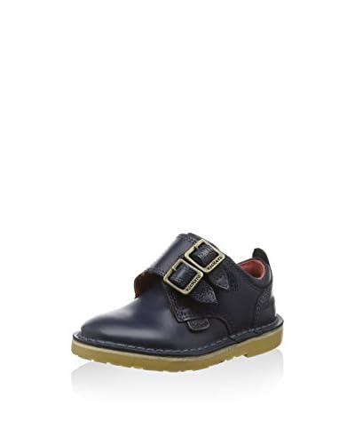 Kickers College Schuh Adlar Monk Dstrap blau