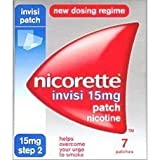 Nicorette Invisi Patch 15mg- 7 patches - Step 2 - PACK OF 3 [Personal Care]