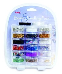 craft-factory-cf458643-value-pack-of-beads-findings-18-reusable-stacking-jars