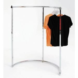Half Round Clothing Rack (Round Garment Rack compare prices)