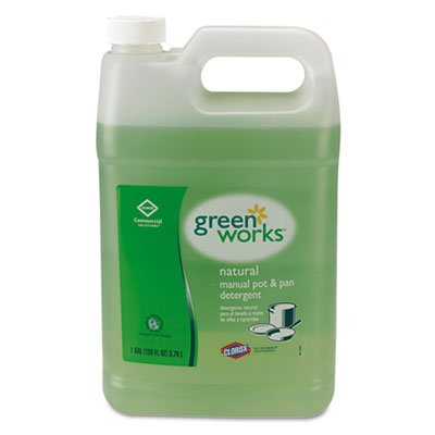 Green Works 30388 Natural Manual Pot and Pan Liquid Detergent, Original, 128 fl oz Can (Pot And Pan Detergent compare prices)