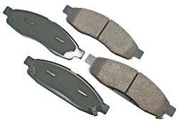 2004 - 2006 Infiniti QX56 Brake Pad Disc Front Premium