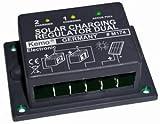 Kleiner Laderegler für Solarpanels und 1 oder 2 Akkus