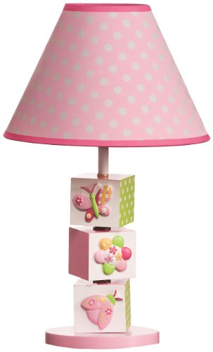 Kids Line Mosaic Garden Lamp Base and Shade