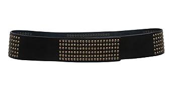 s 2 3 8 quot wide contour studded velcro belt size s m