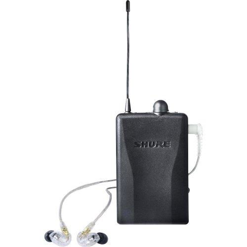 Shure P2R215Cl-H2 Live Sound Monitor, Black