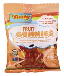 Tasty Brand Fruit Snack Organic Smooth Bag 77 g