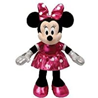 Disney Ty Minnie Mouse - Sparkle Pink Small Plush from Ty
