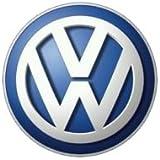 VW Volkawagen Blue Key Badge Logo 14mm / VW Schlüssel Schriftzug Logo Emblem Bleu Durchmesser 14mm