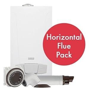 Baxi duo tec 33 ga combi boiler pack horizontal flue for Manuale baxi duo tec