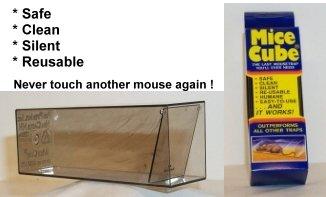 Mice Cube 4 Pk - Reusable Humane Mouse Trap