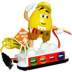 M&M USB computer powered hub