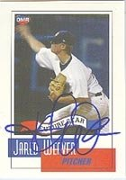 Jared Weaver Anaheim Angels 2004 OMR Autographed Hand Signed Trading Card - Awesome... by Hall+of+Fame+Memorabilia