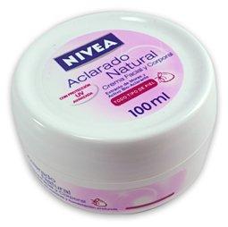 Amazon.com : Nivea Pink Cream Natural Tone 3.5oz Crema Nivea Aclarado