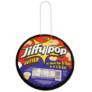 Jiffy Pop Popcorn - a Case of 12 pans
