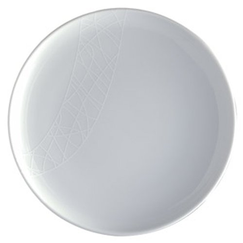 White Jamie Oliver 1-Piece 27 cm Porcelain Dinner Plate