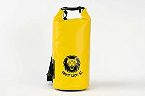 Essential 5L ● BEST Dry Bag, Dry Sack On Amazon ● Premium Dry Bags Waterproof GUARANTEED, Shoulder Strap Included ● Floating Dry Bag, Great For Kayaking & Swimming ● Dry Compression Sack With A Quality Roll Top, Perfect For Your Outdoor Quest ● LIFETIME Money Back Guarantee! (Yellow)