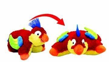 Colorful Beak Tropical Parrot Pillow Pets Pee Wees
