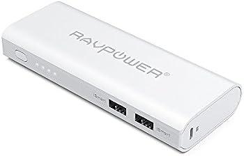 2-Pk. RAVPower RP-PB07 10400mAh Portable Power Bank