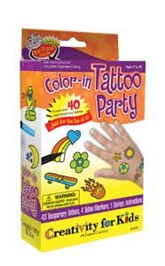 Color In Tattoo Party