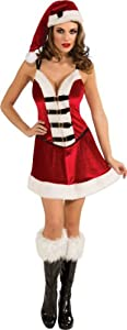 Secret Wishes Playboy Santa Baby Costume, Multi, Large