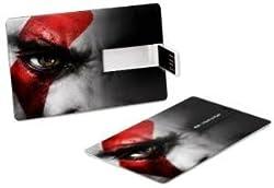ZBEL Credit Card Shape 8GB Pendrive - WOS369 Black SET OF 02