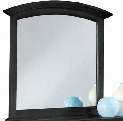 American Drew Sterling Pointe Vertical Mirror In Black front-20382