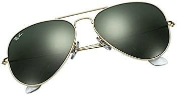 Ray-Ban Aviator Large Metal Aviator Sunglasses, Gold (L0205 Gold)