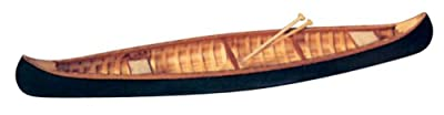 The Indian Girl Canoe Wooden Model Kit