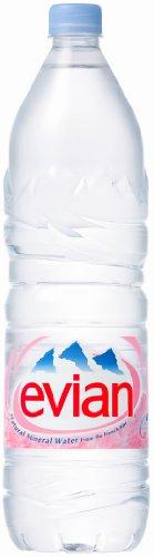 (お徳用ボックス) エビアン ミネラルウォーター ペットボトル 1.5L×12本 「正規輸入品」