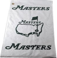 Masters White Golf Towel by Great Golf Memories
