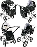 Babystyle 3 in 1 Lux Aero Black Chrome/Black Chassis