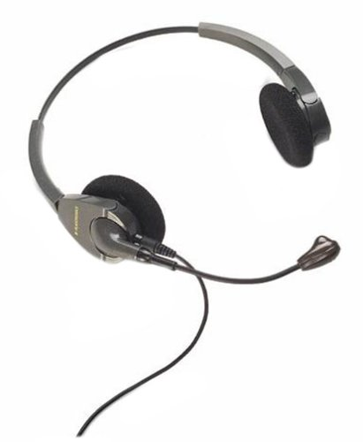 Plantronics Encore Binaural Headset With Noise Cancelling