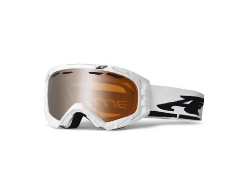 Arnette, Maschera da sci uomo Mercenary, Bianco (polished white w/shadow chrome)