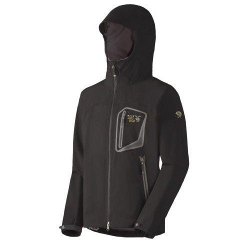 Mountain Hardwear Men's Axial Jacket-Black-L