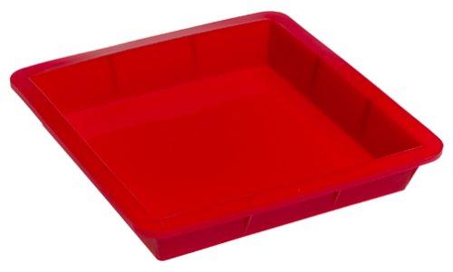 SiliconeZone 8-1/2 Inch Square Cake Pan, Red - Buy SiliconeZone 8-1/2 Inch Square Cake Pan, Red - Purchase SiliconeZone 8-1/2 Inch Square Cake Pan, Red (Silicone Zone, Home & Garden, Categories, Kitchen & Dining, Cookware & Baking, Baking, Cake Pans, Square & Rectangular)
