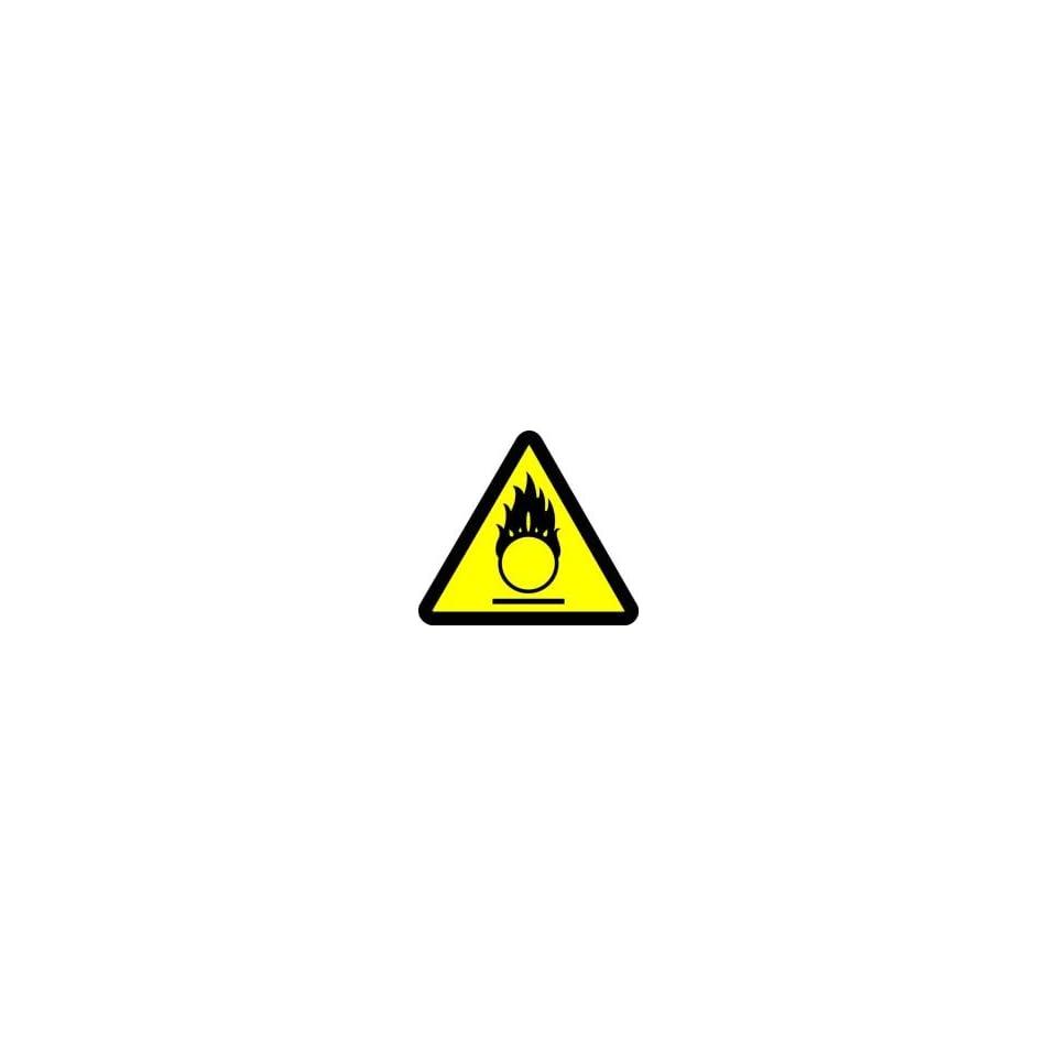 WARNING Labels OXIDIZING MATERIALS HAZARD 2 Adhesive Dura Vinyl