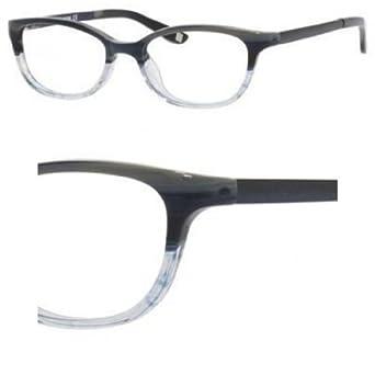 Liz Claiborne Eyeglass Frames 135 : LIZ CLAIBORNE 422 Eyeglasses 0G74 Blue Horn 49-17-135 ...