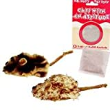 KONG Cats with an Attitude 2 Mice Jungle / Lamb Catnip Toy Cat Toy, 2/pack